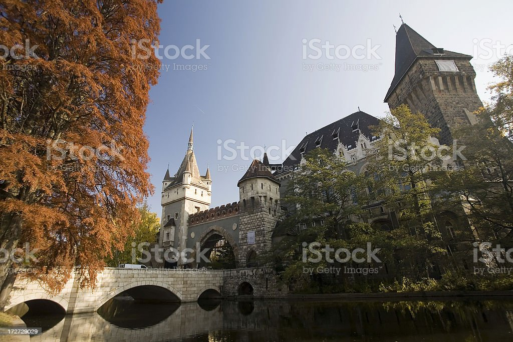 castle in budapest royalty-free stock photo