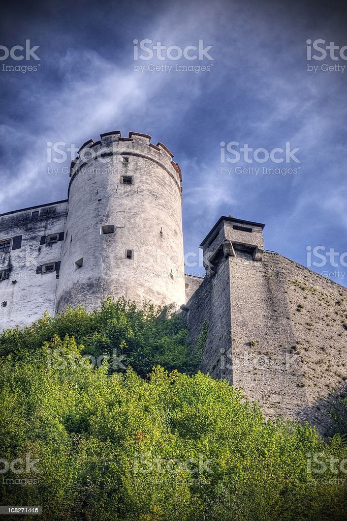 Castle in Europe stock photo