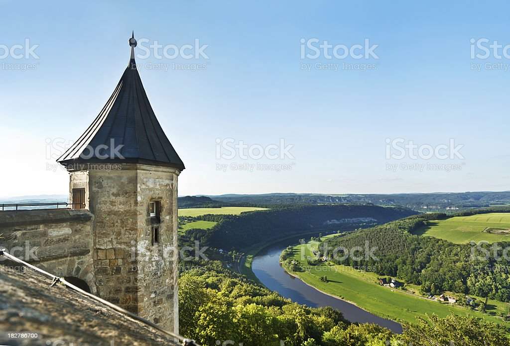 Castle in Germany stock photo