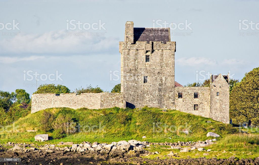 Castle in Ireland stock photo
