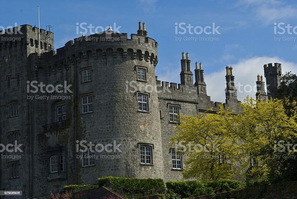 Castle in Ireland royalty-free stock photo