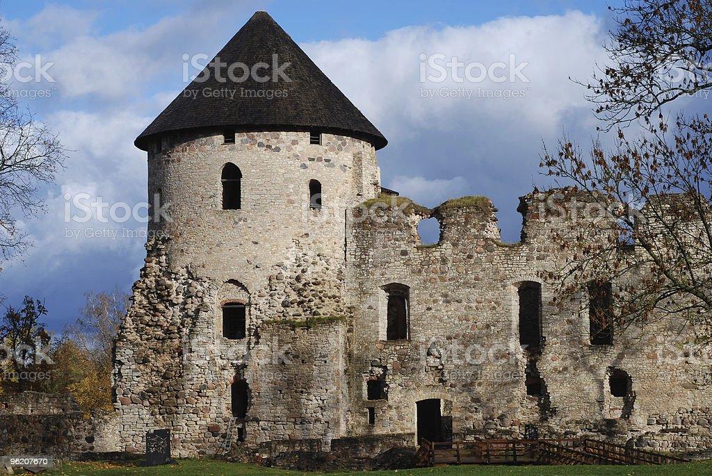 Castelo de Letónia foto de stock royalty-free