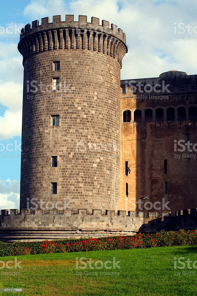 Castle in Naples. Italy royalty-free stock photo