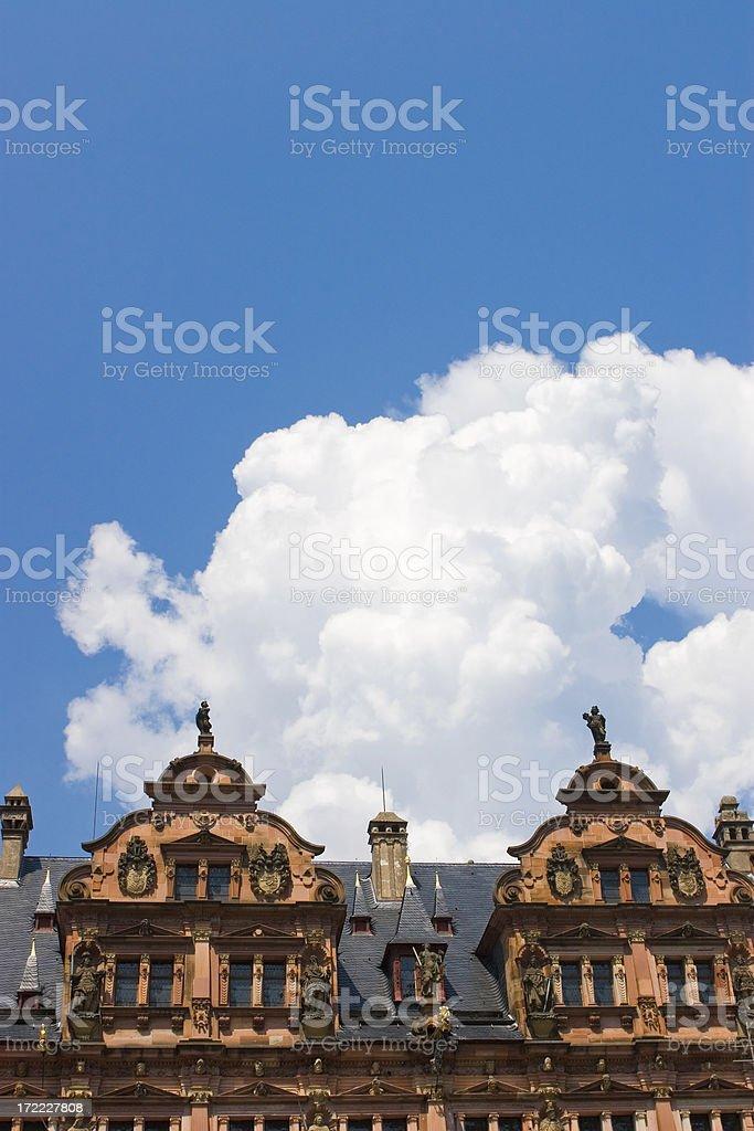 Castle in the Sky stock photo