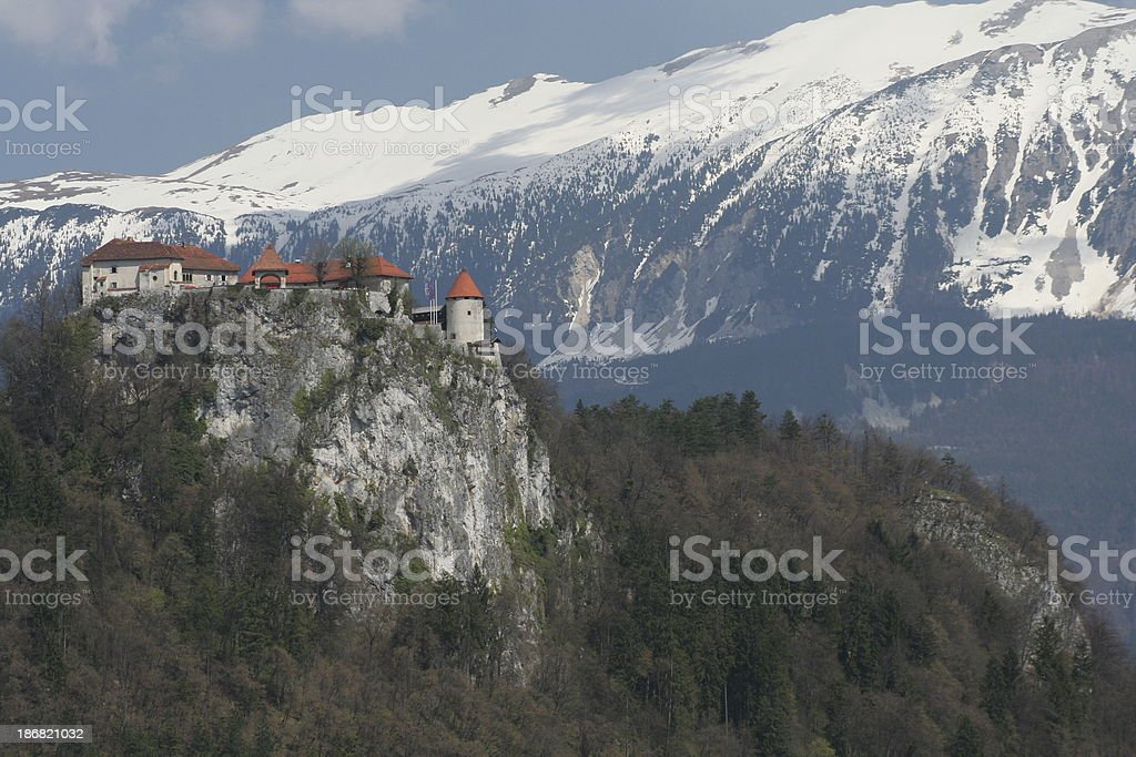Castle in the Sky royalty-free stock photo