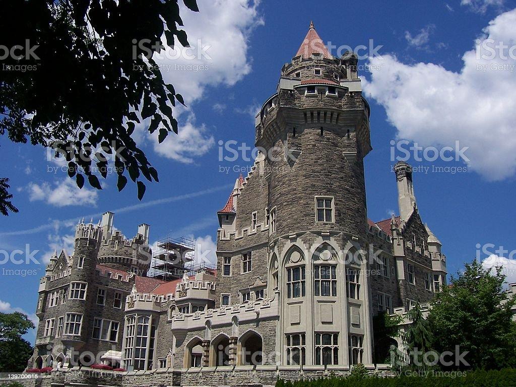 Castle in Toronto royalty-free stock photo
