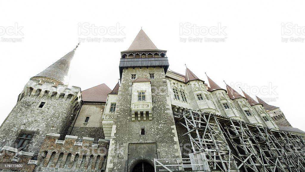 castle in Transylvania stock photo