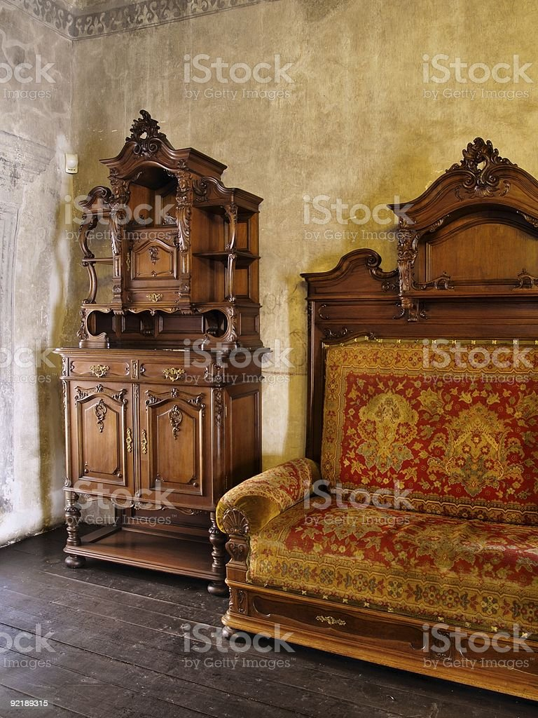 Castle Interior royalty-free stock photo