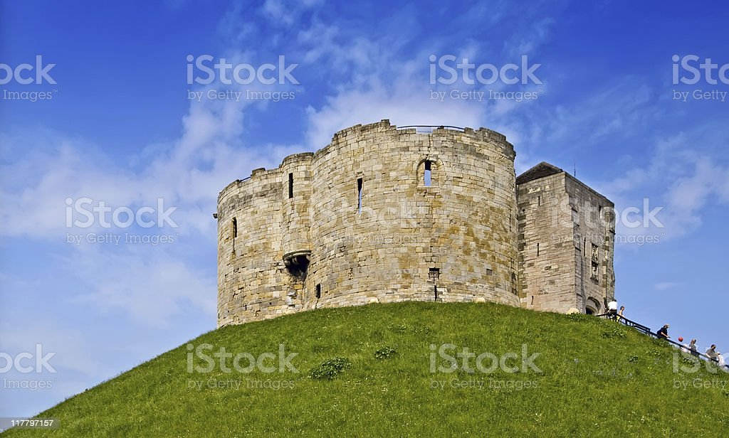 Castle Keep, York stock photo