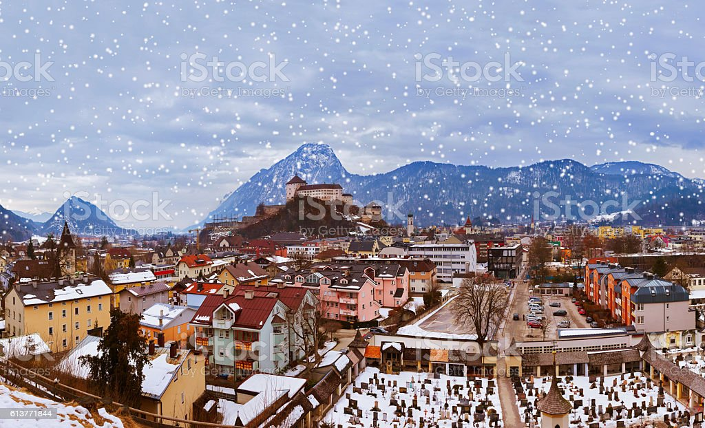 Castle Kufstein in Austria stock photo