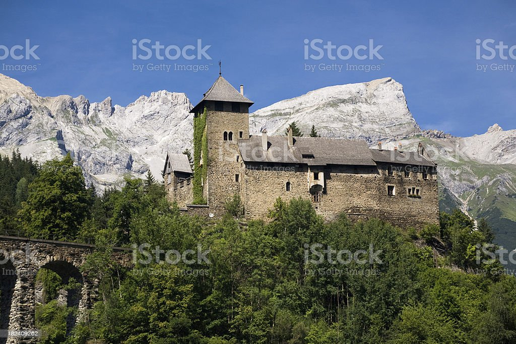castle landeck stock photo