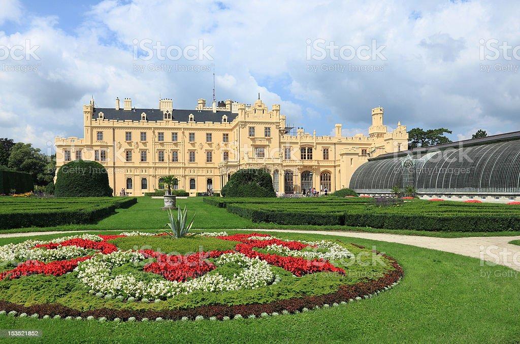 Castle Lednice royalty-free stock photo