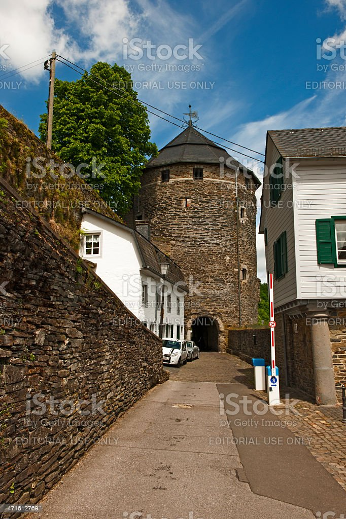 Castle Monschau royalty-free stock photo