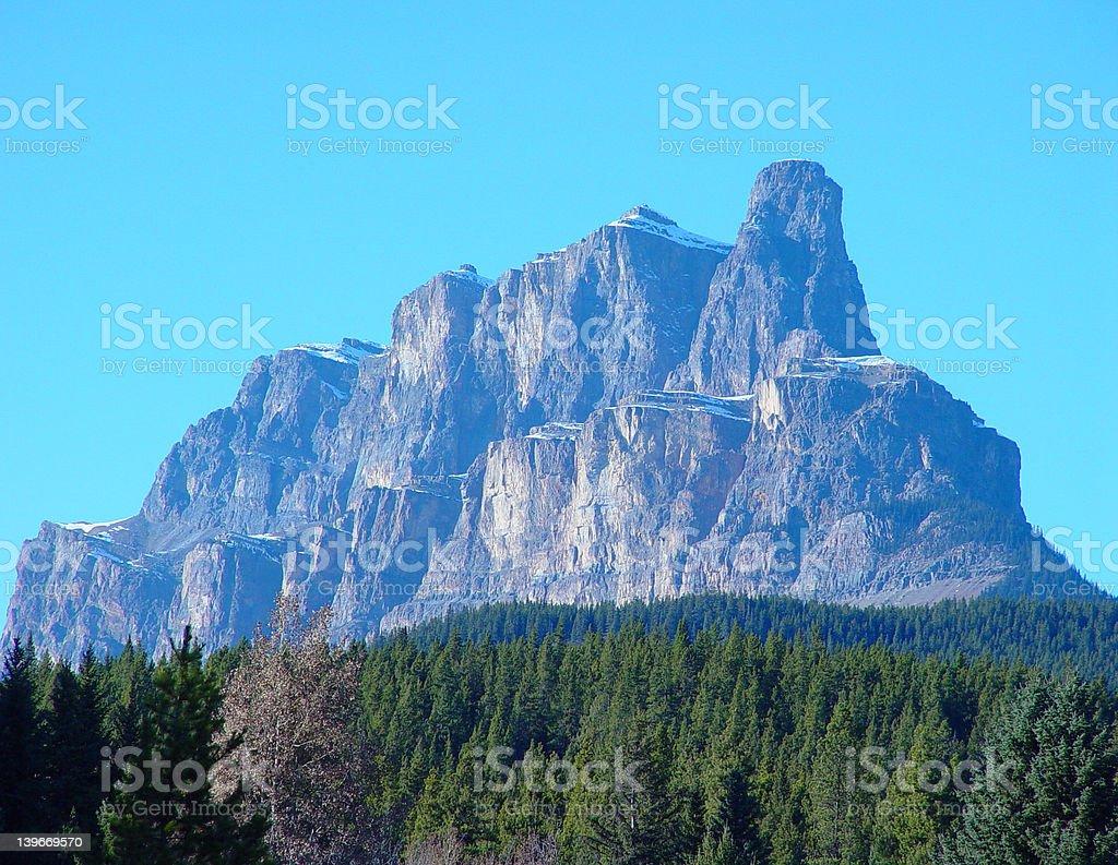Mont Castle Forteresse de solitude photo libre de droits