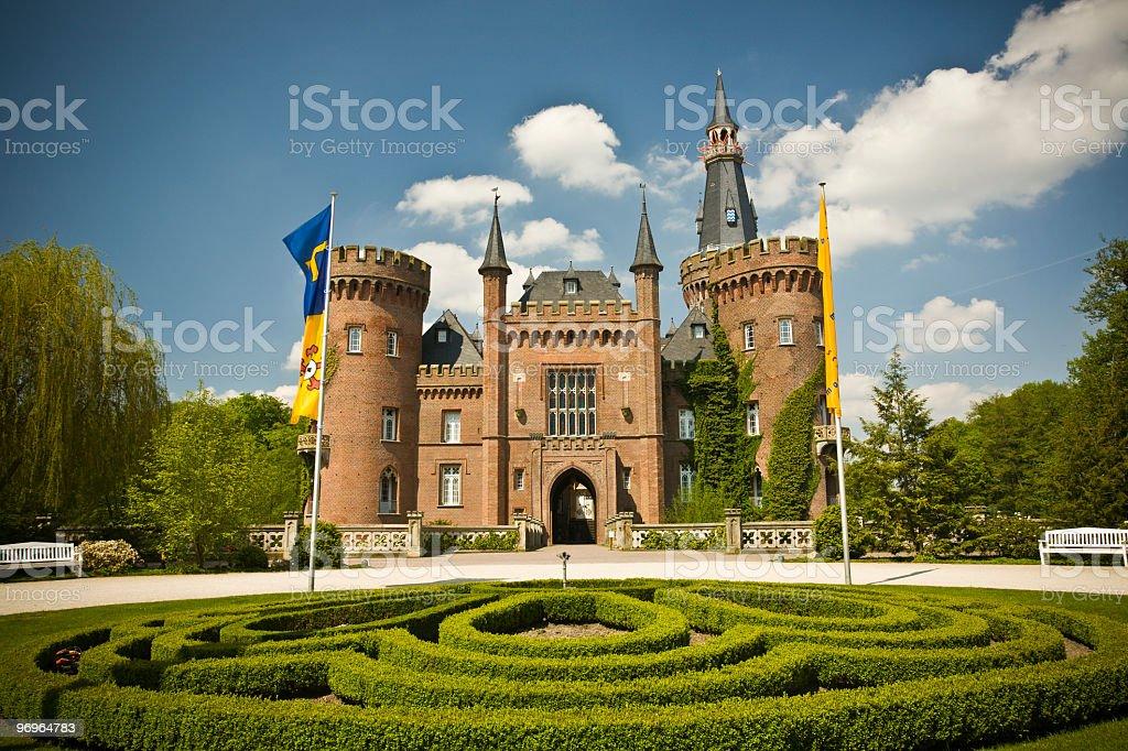 Castle Moyland royalty-free stock photo