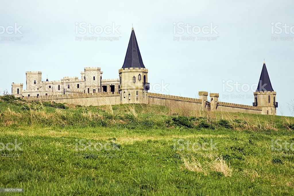 Castle near Lexington stock photo