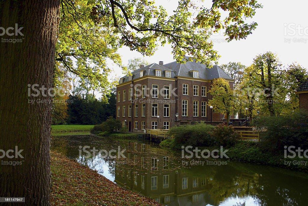 Castle Neerijnen royalty-free stock photo