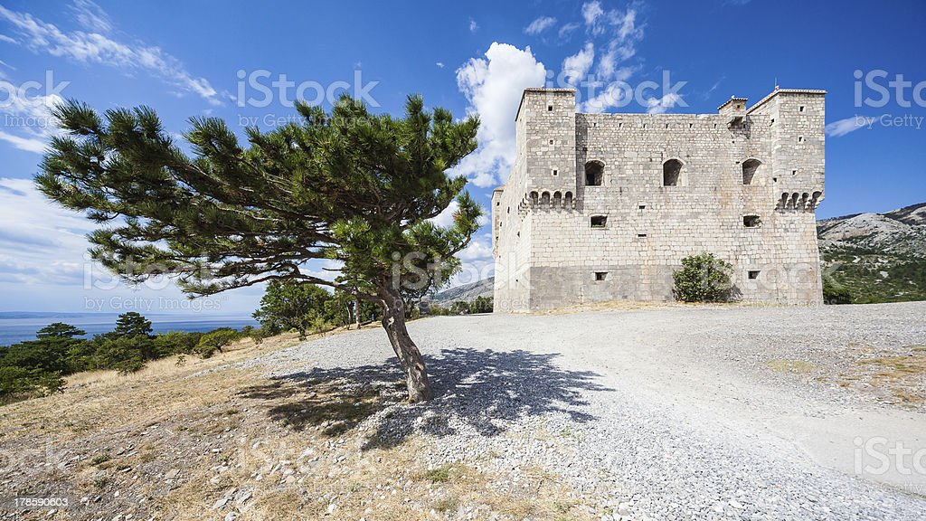 Castle Nehaj stock photo