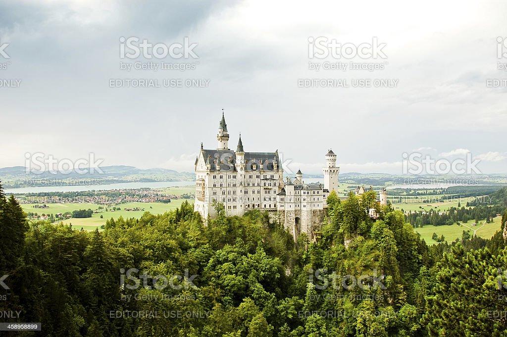Castle Neuschwanstein royalty-free stock photo