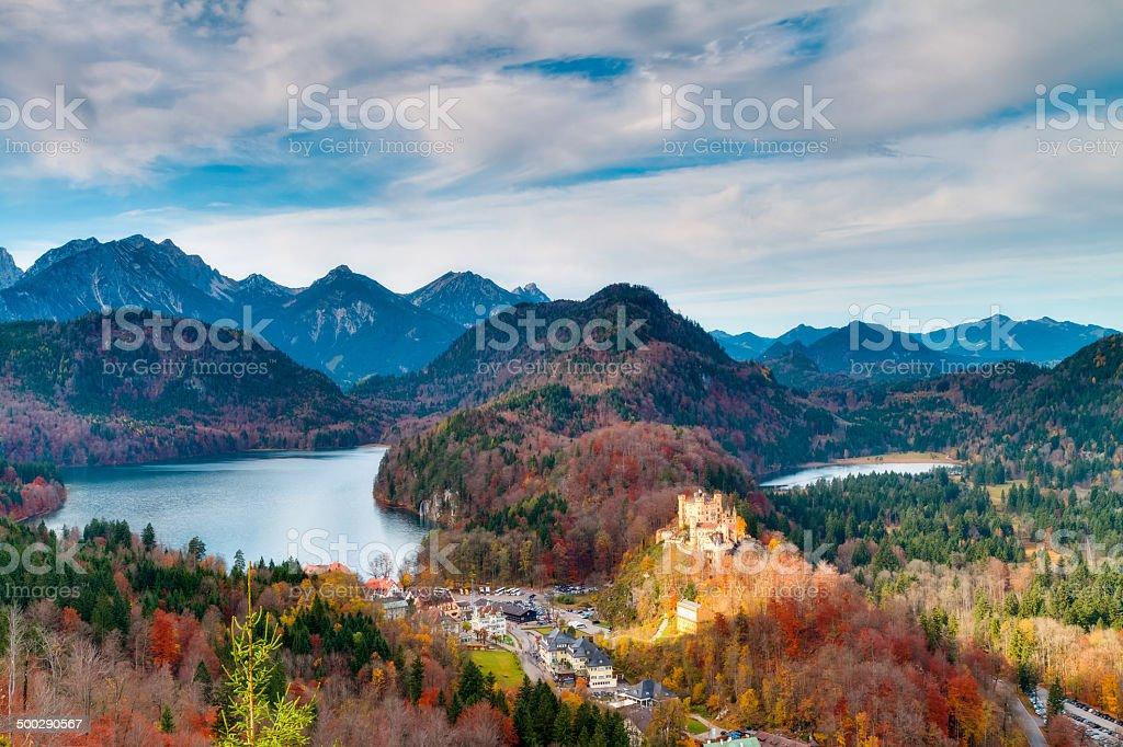 Castle Neuschwanstein stock photo