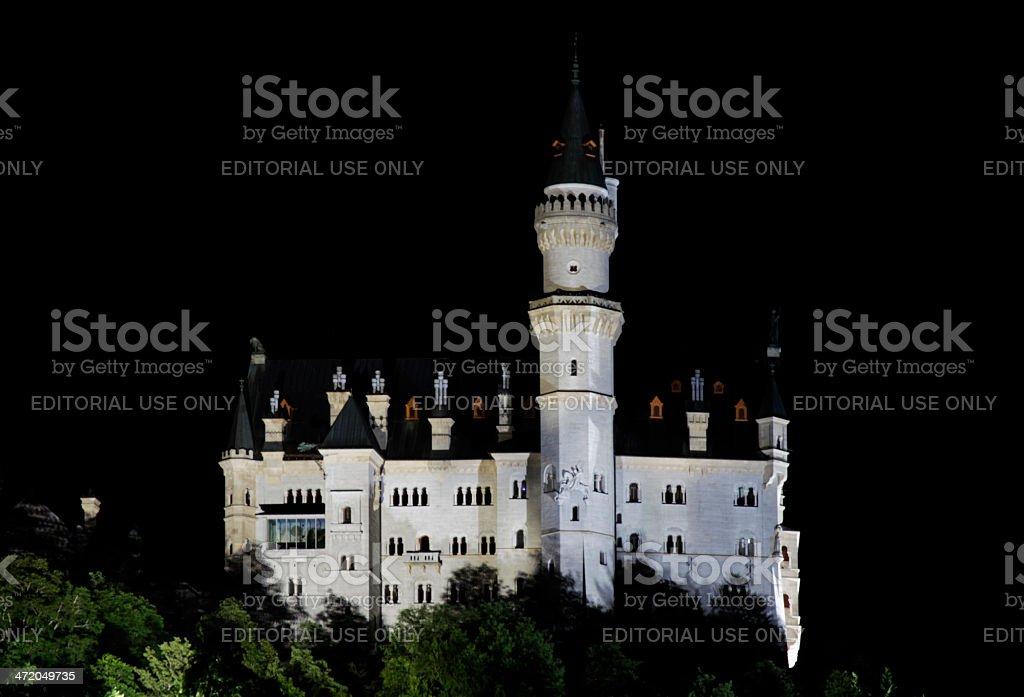 Castle Neuschwanstein , Schwangau stock photo