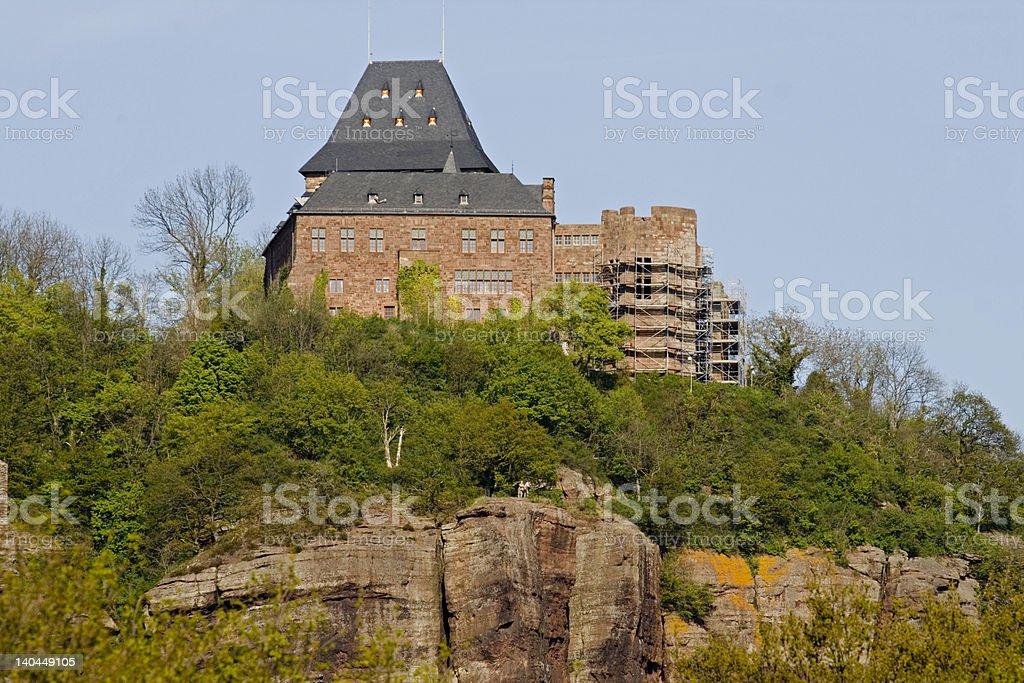 castle nideggen stock photo