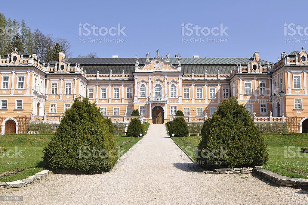 castle Nove Hrady,Czech royalty-free stock photo