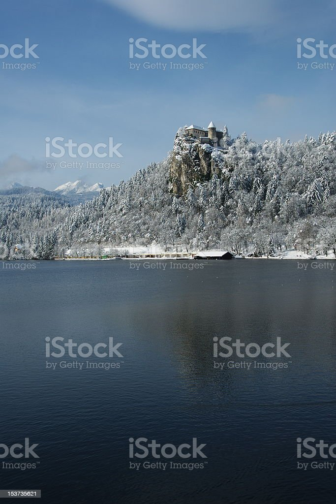 Castle of Bled royalty-free stock photo