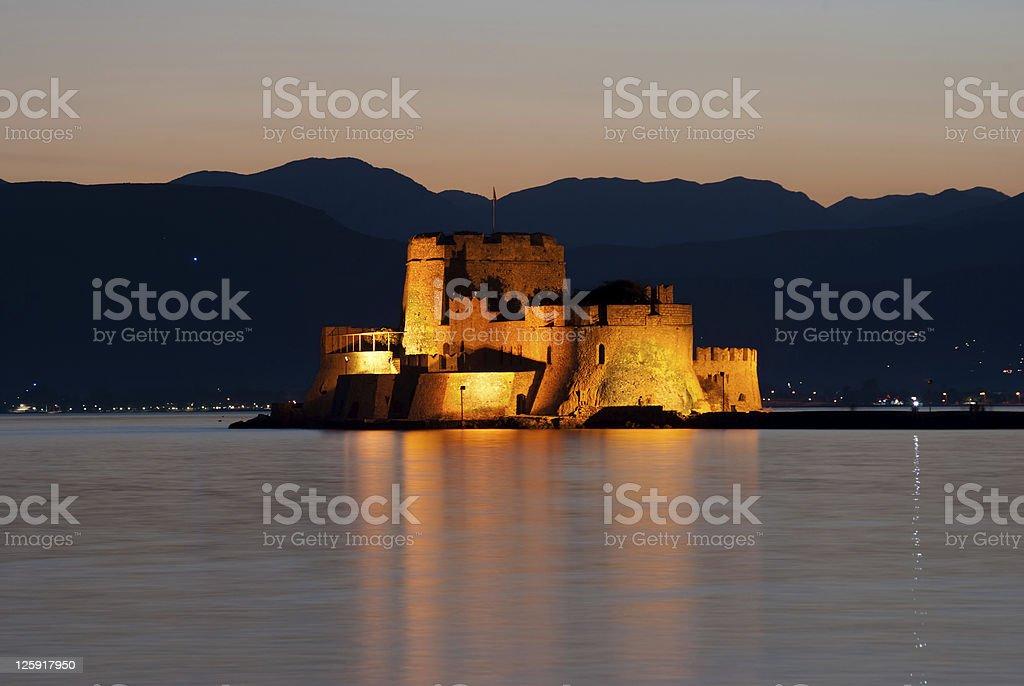 castle of Bourtzi stock photo