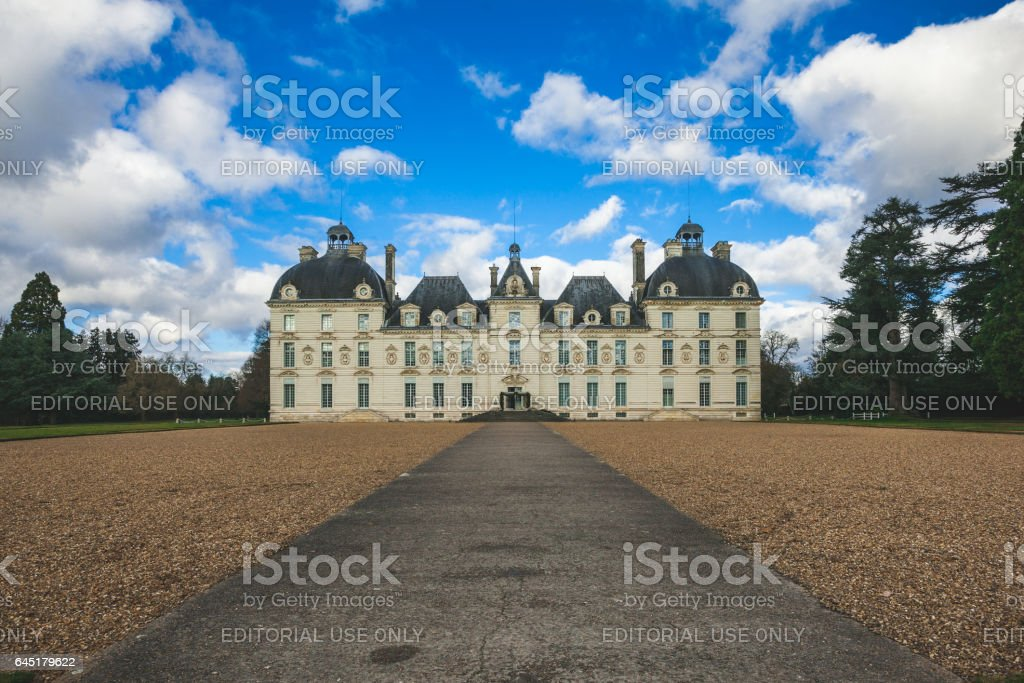 Castle of Cheverny, Loire Valley, france stock photo