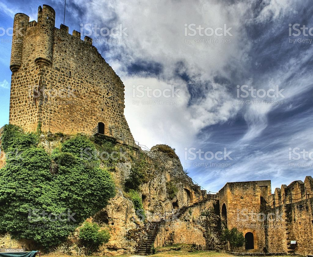 Castle of Frias stock photo