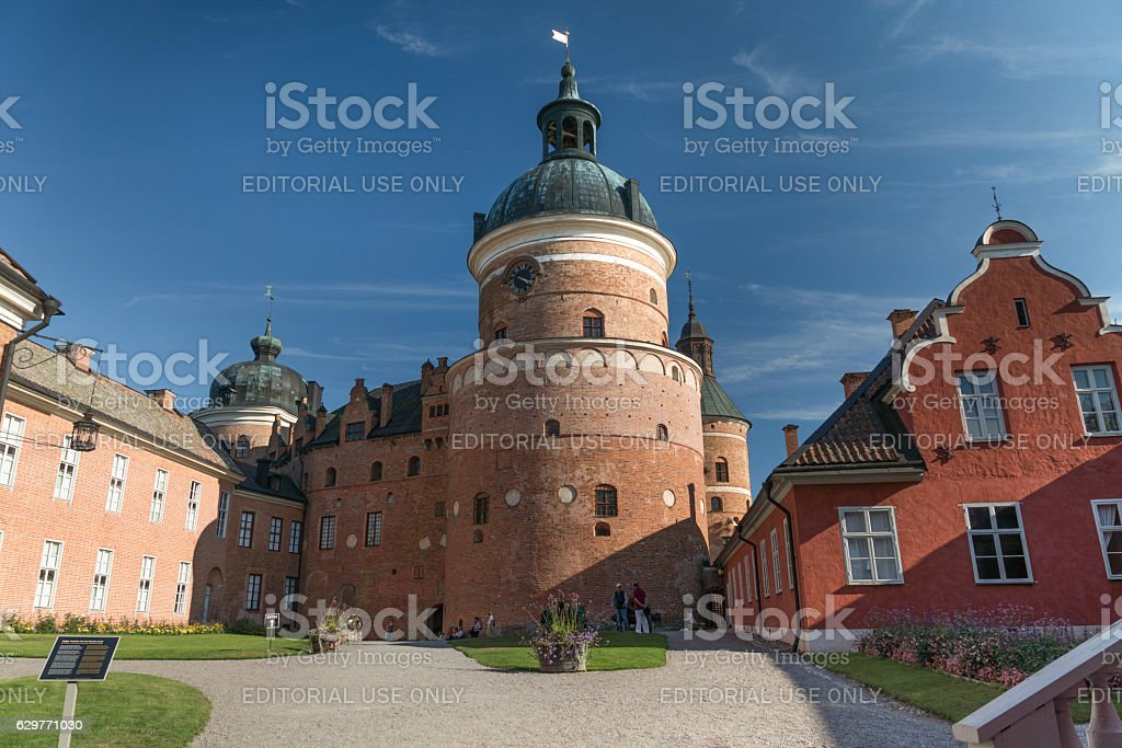 Castle of Gripsholm stock photo
