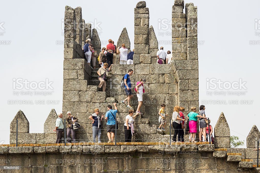 Castle of Guimaraes royalty-free stock photo