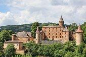 Castle of Jarnioux in Beaujolais, France