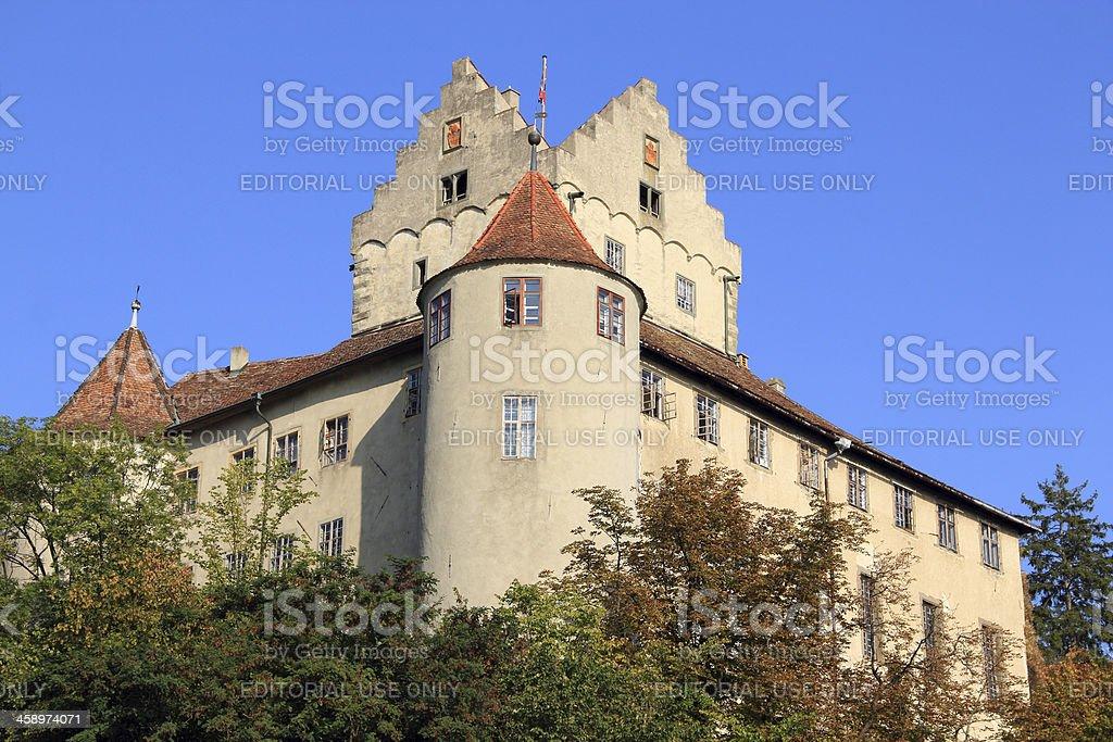 Castle of Meersburg - Lake Constance/Germany stock photo