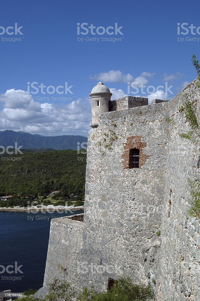 Castillo del Morro royalty-free stock photo