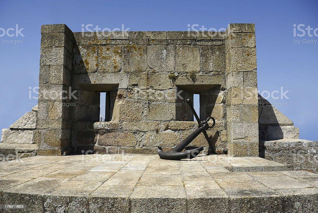Castillo de San Antón royalty-free stock photo