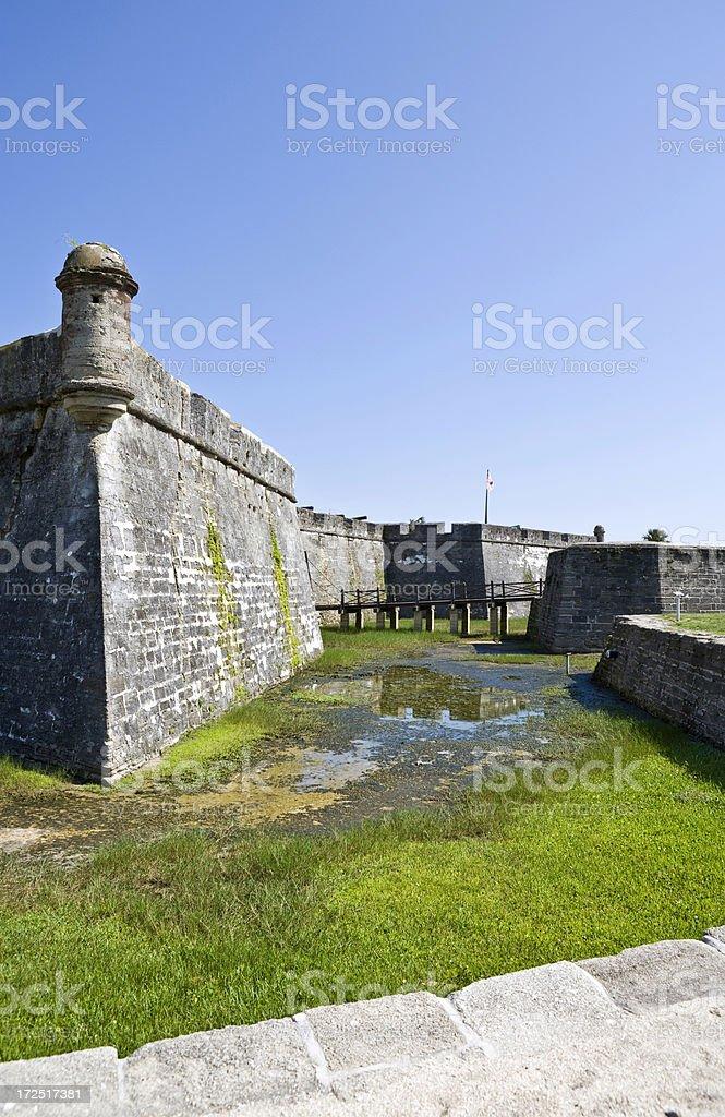 Castillo de San Marcos stock photo
