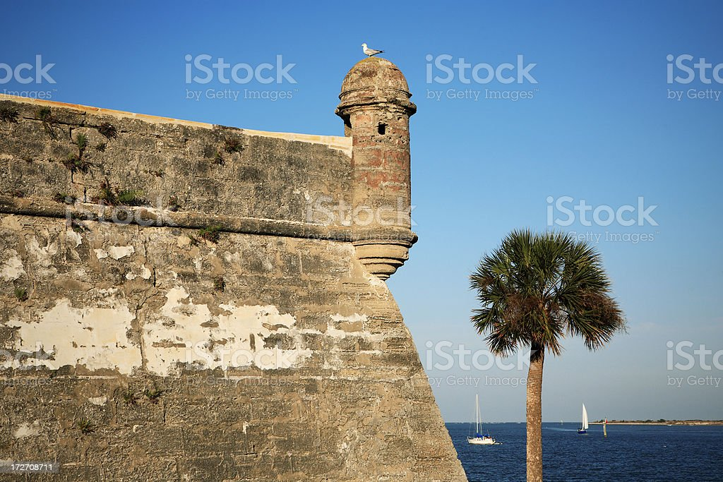Castle of San Marcos stock photo