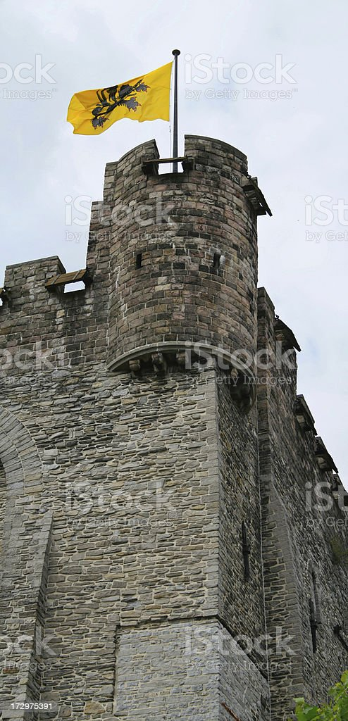 Castle of the Counts stock photo