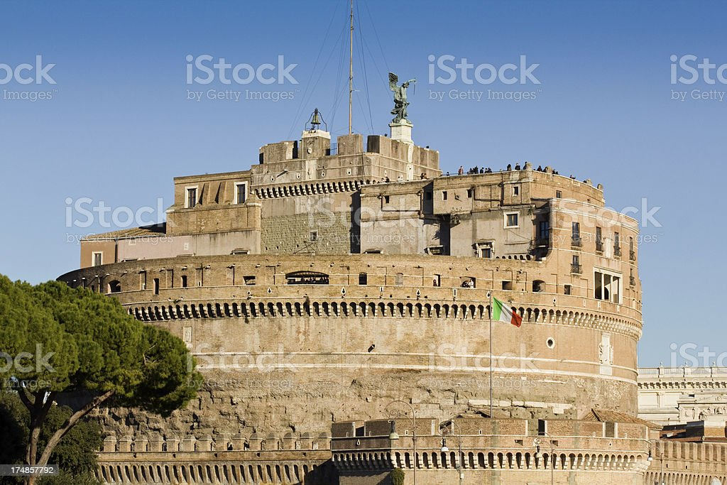 Castle of the Holy Angel royalty-free stock photo
