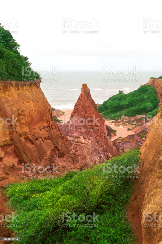 Castle of the Princess in Joao Pessoa, northeast of Brazil stock photo