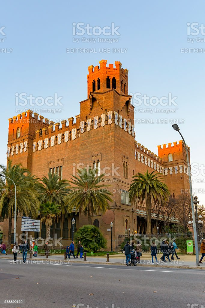 castle of the three dragons stock photo
