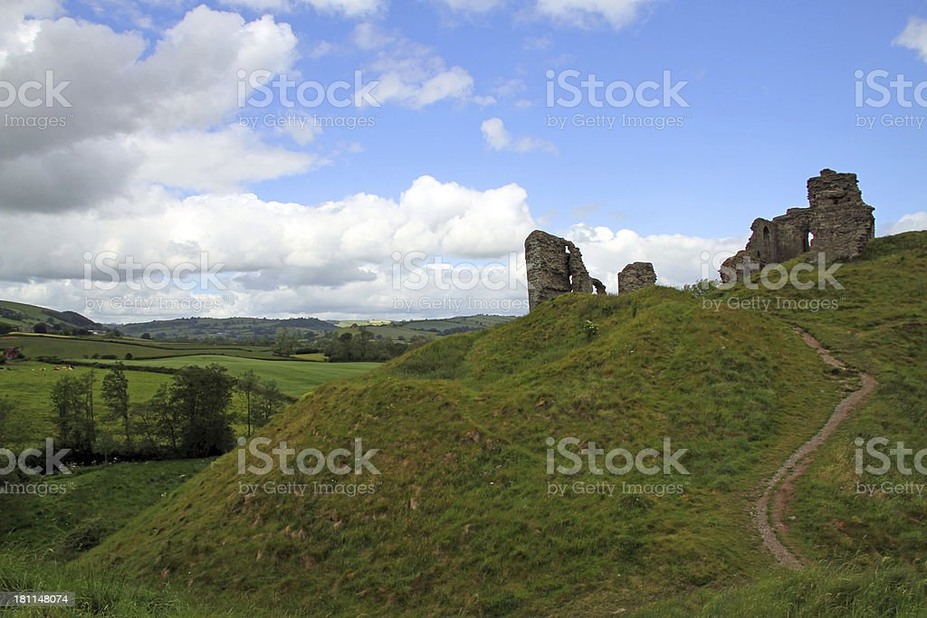 Castle on a Hill stock photo