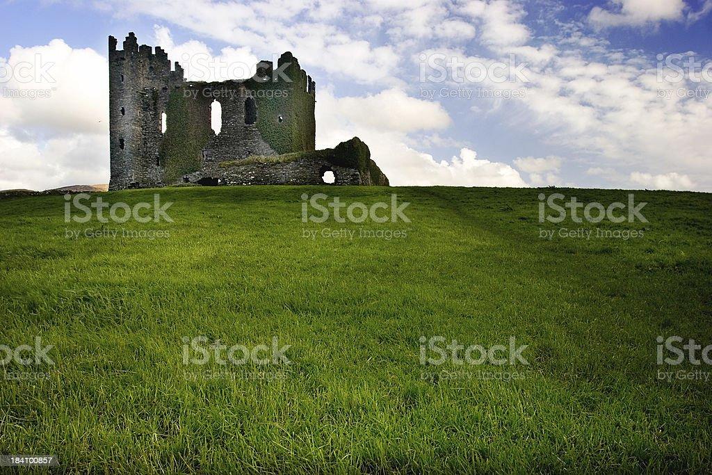 castle on win XP hill stock photo