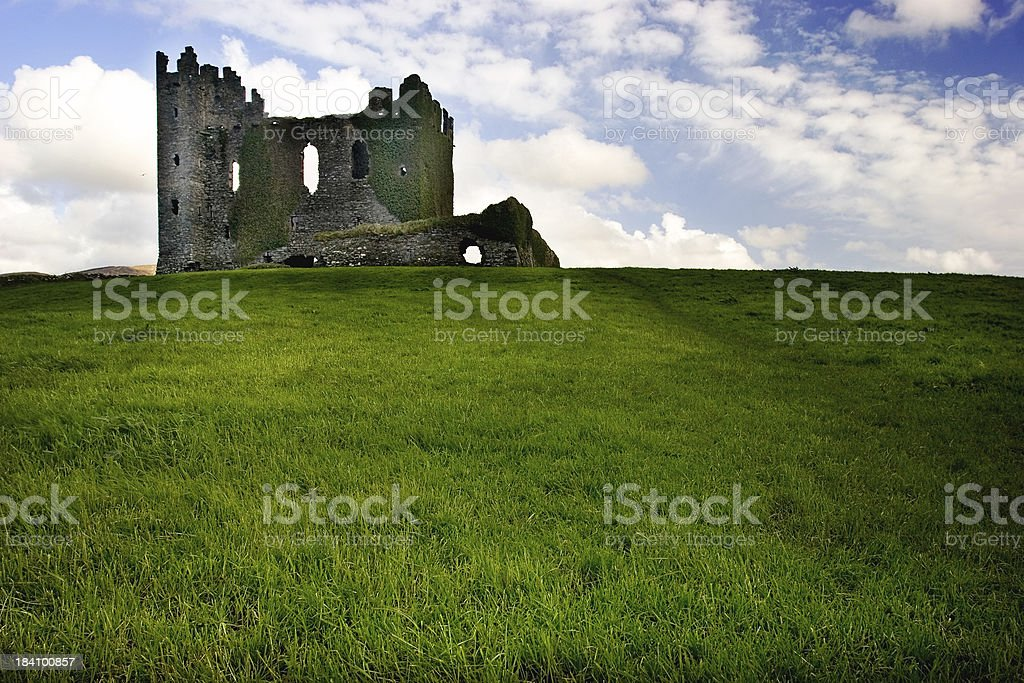 castle on win XP hill stock photo
