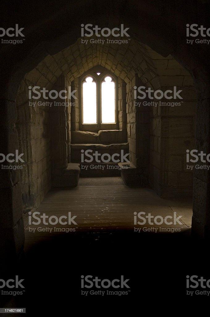 Castle Passage stock photo