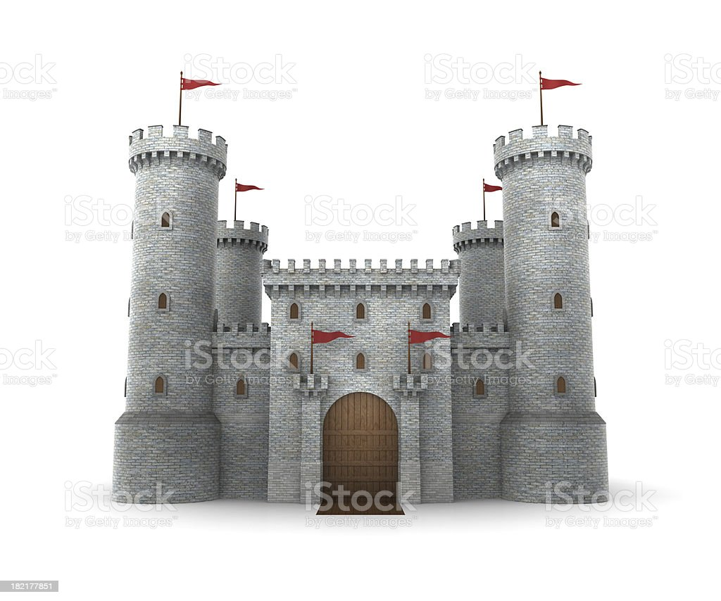 Castle stock photo