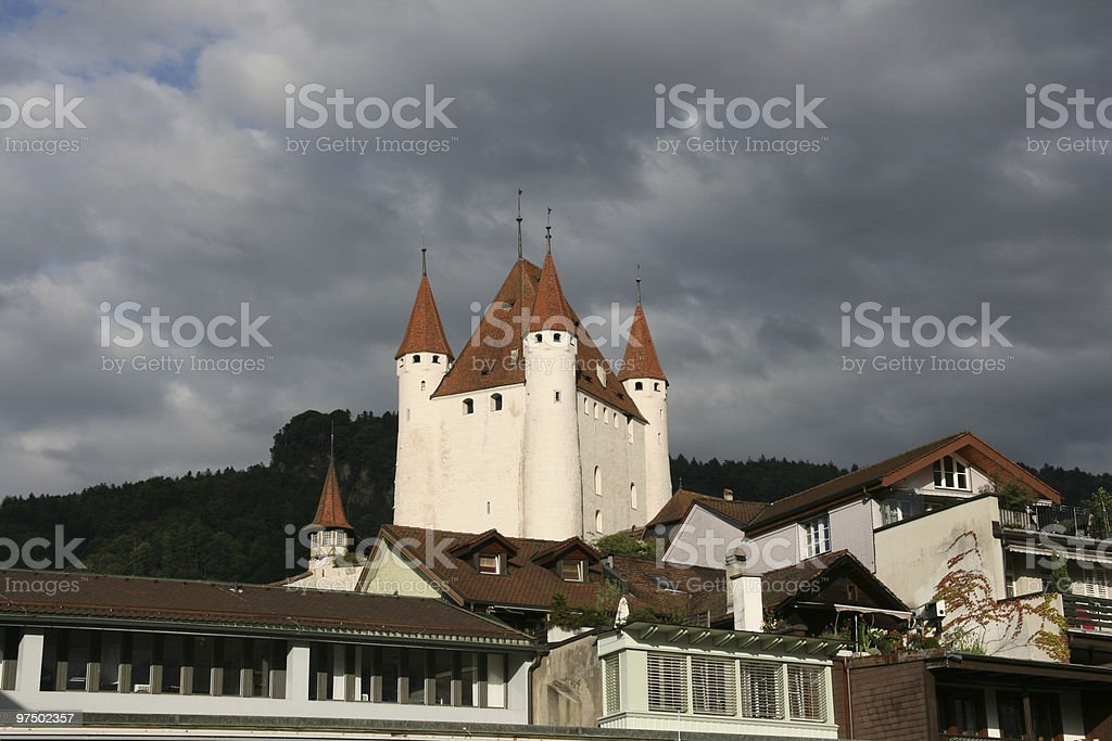 Castle royalty-free stock photo