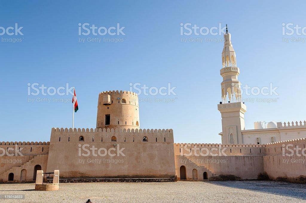 Castle Ras Al Hadd stock photo